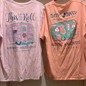 Pack of two used shirts